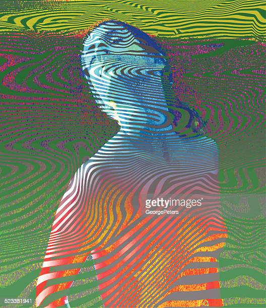 Vintage Psychedelic Woman