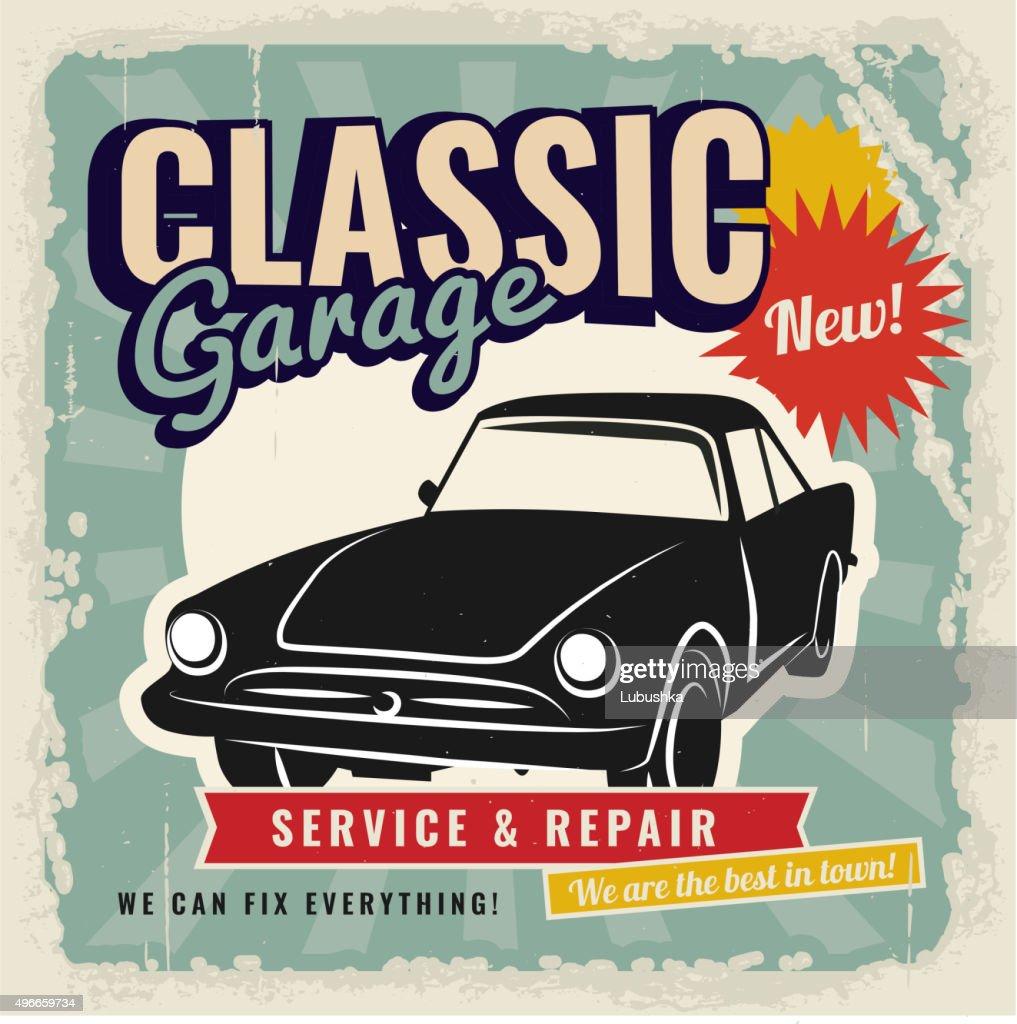 Vintage Retro Car