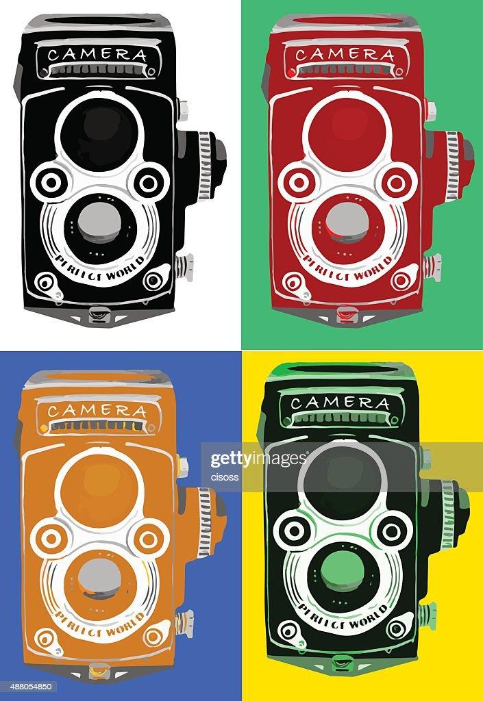 vintage retro old film camera