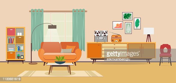 5 489 Living Room High Res Illustrations Getty Images