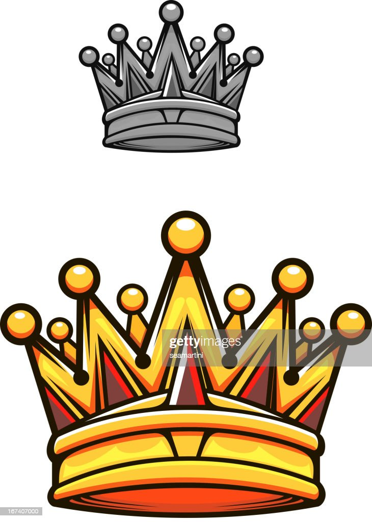 Vintage royal crown : Vector Art