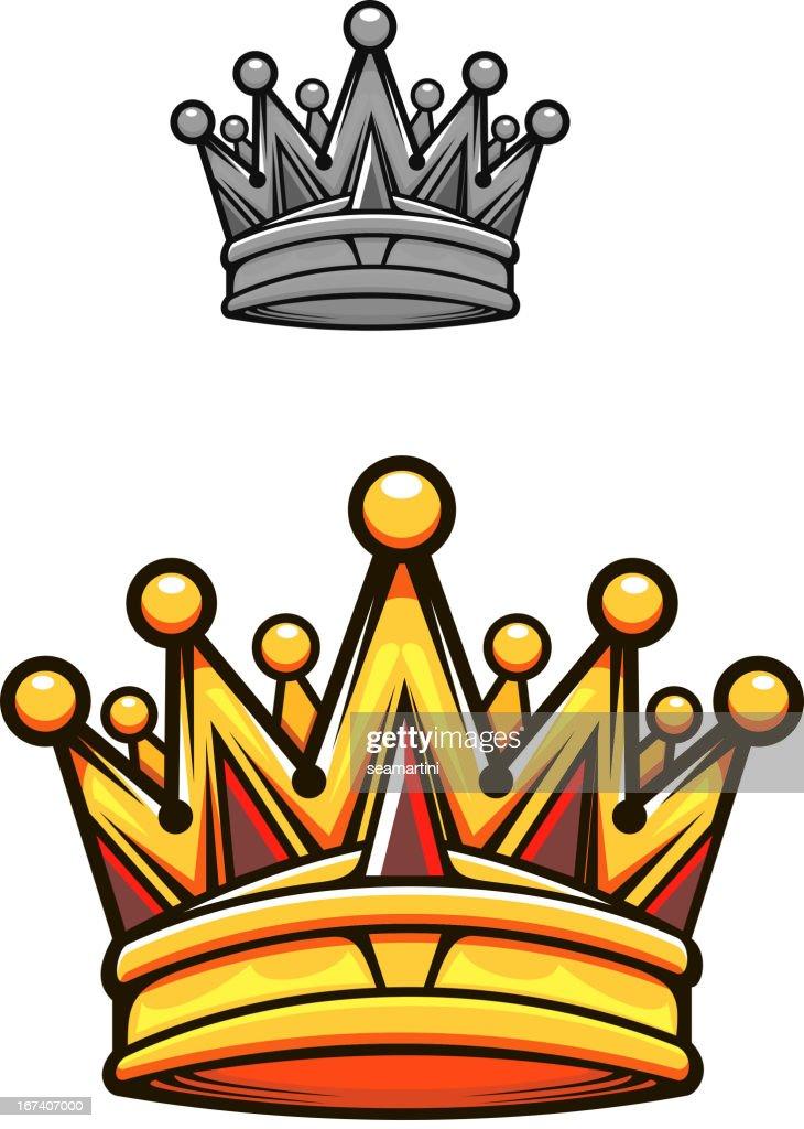 Vintage royal crown : Vektorgrafik