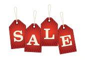 Vintage Sale Retail Tags