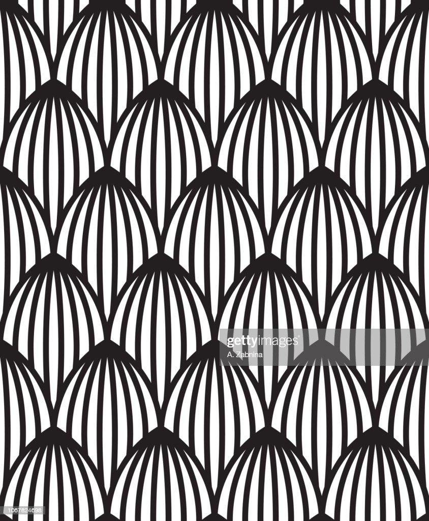 vintage seamless pattern : stock illustration