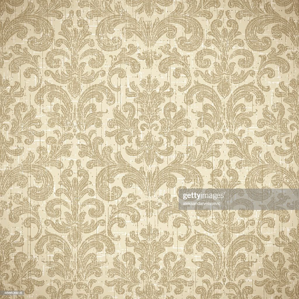 Vintage Seamless Wallpaper Background