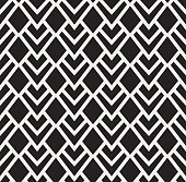 Vintage Square Art Deco Seamless Pattern. Geometric decorative texture.