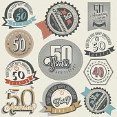 Vintage style 50 anniversary collection