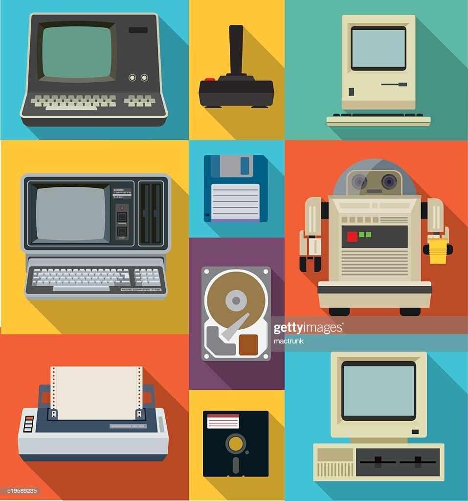 Vintage style technology
