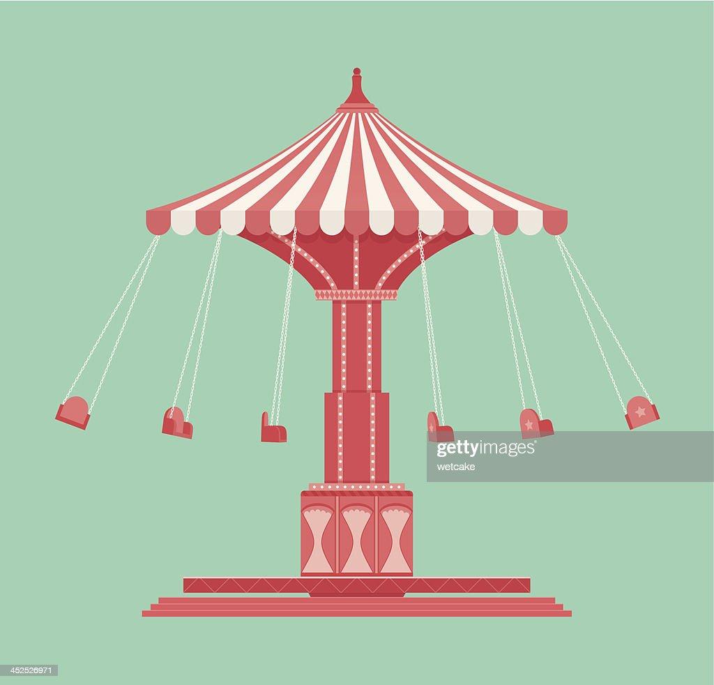 Vintage Swing Carousel
