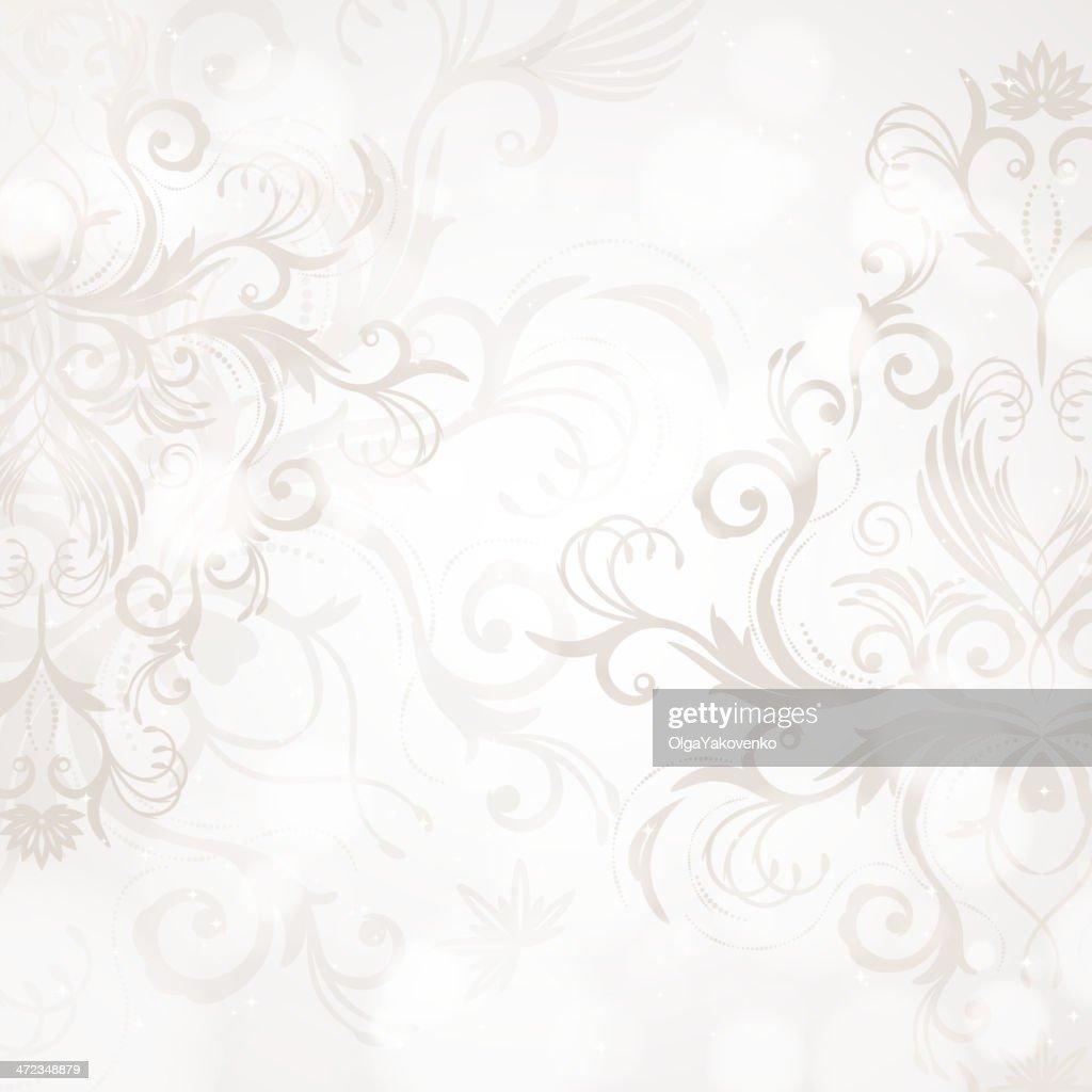 Vintage swirl background