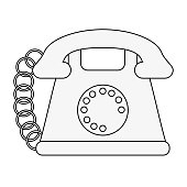 Vintage telephone communication