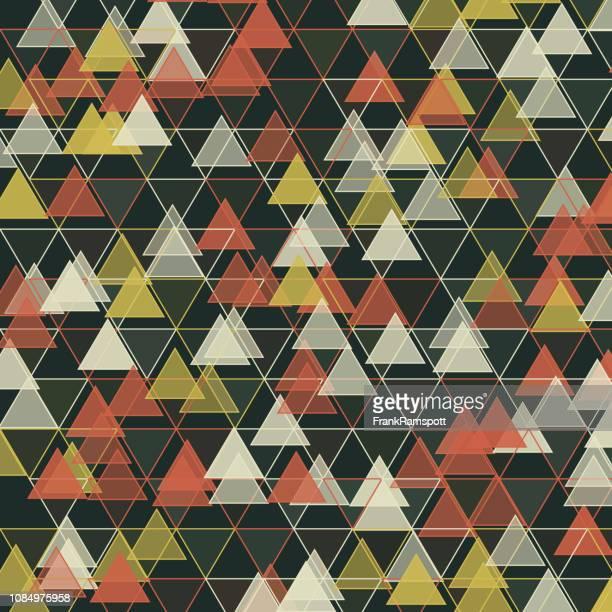 Vintage Dreieck-Vektor-Design-Pattern