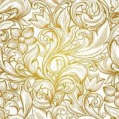 vintage  victorian  seamless  pattern