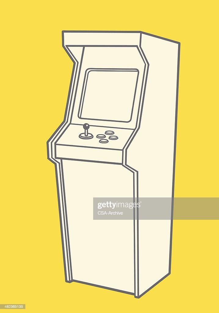 Vintage Video Game : stock illustration
