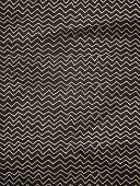 Vintage wrapping paper with zigzag