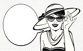 Vintage_woman_with_brimmed_hat_and_glasses