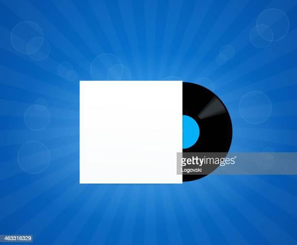 stockillustraties, clipart, cartoons en iconen met vinyl background - opslagmedia voor analoge audio