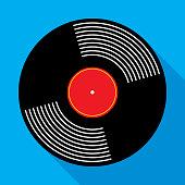 Vinyl Record Album Icon