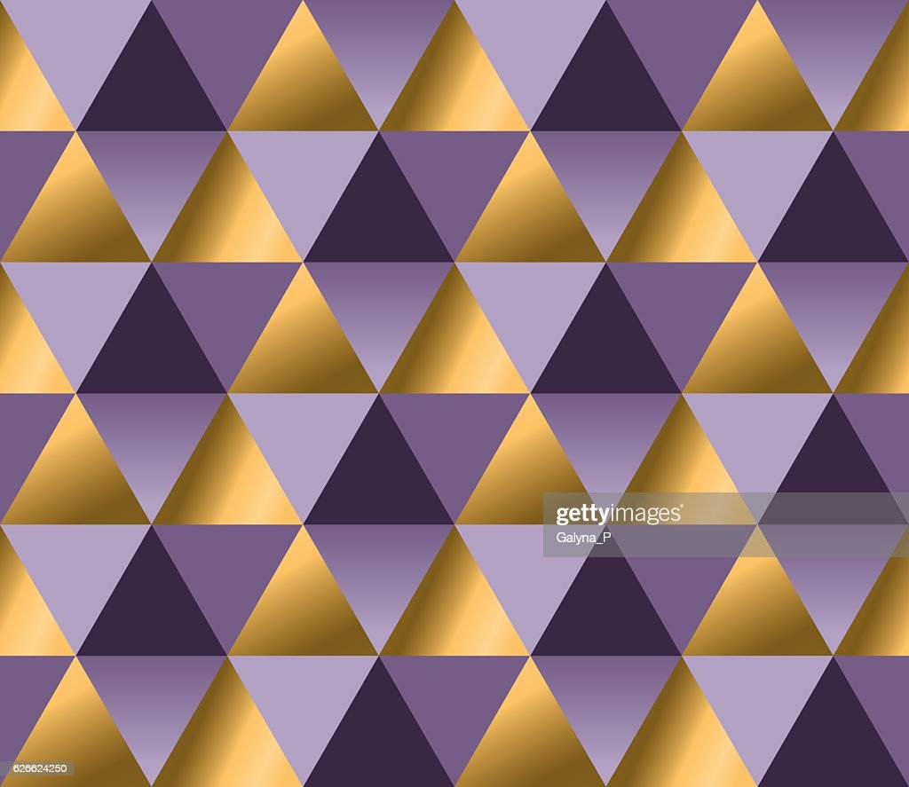violet color and gold metal texture vector background.