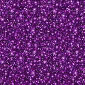 Violet Glitter Texture, Seamless Sequins Pattern