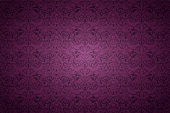 violet, marsala, purple vintage background , royal with classic Baroque pattern