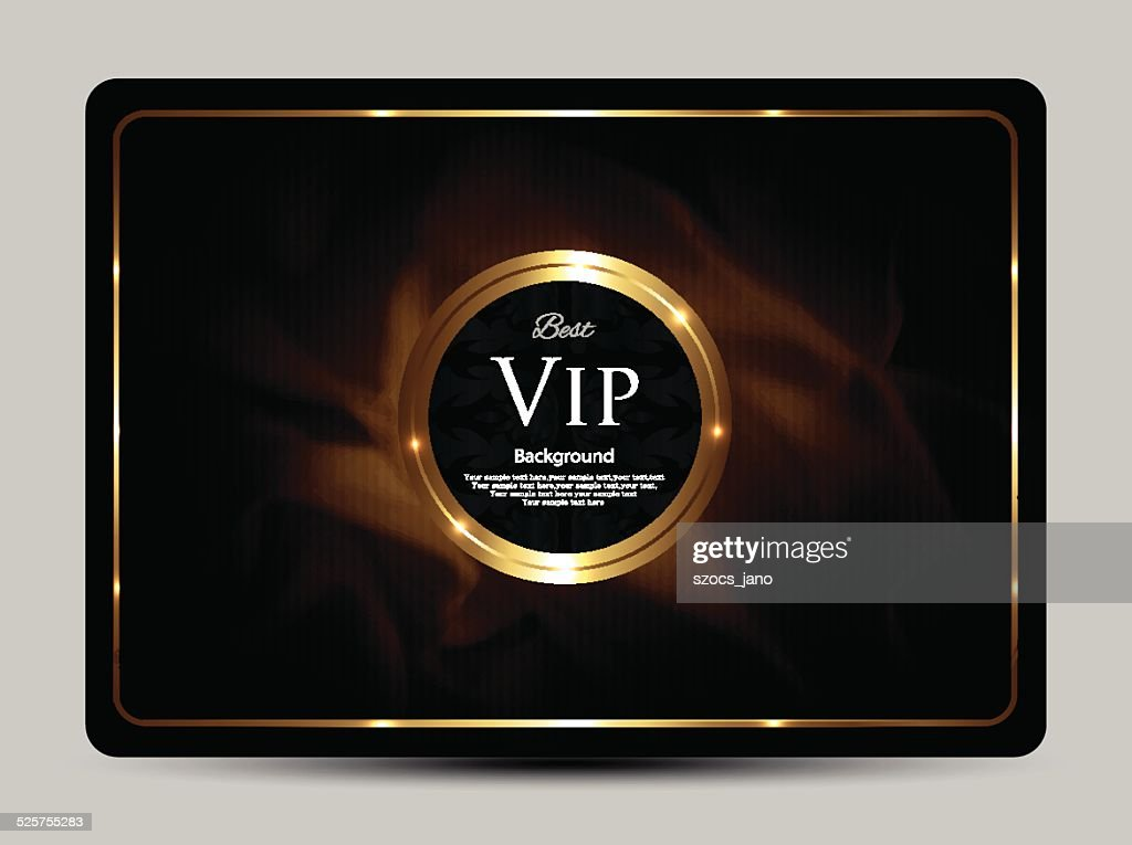 Vip background-greeting card-vintage