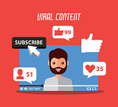 viral content beard man in video suscribe like follow comment