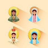 virgin mary icon
