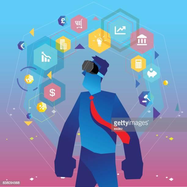 Virtual reality based business