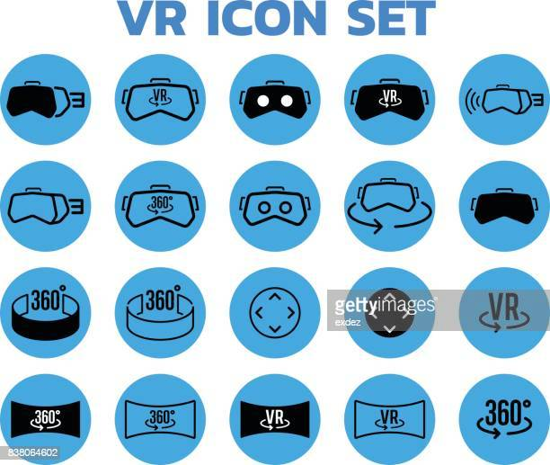 Virtual reality based icons