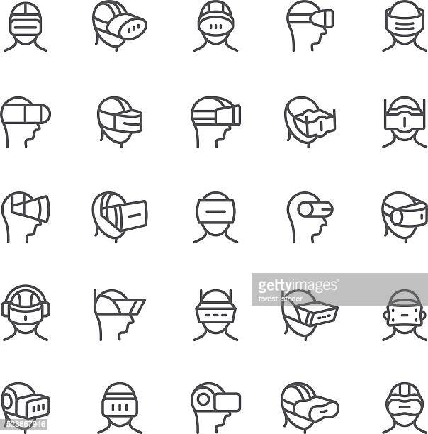 Virtual Reality device icons