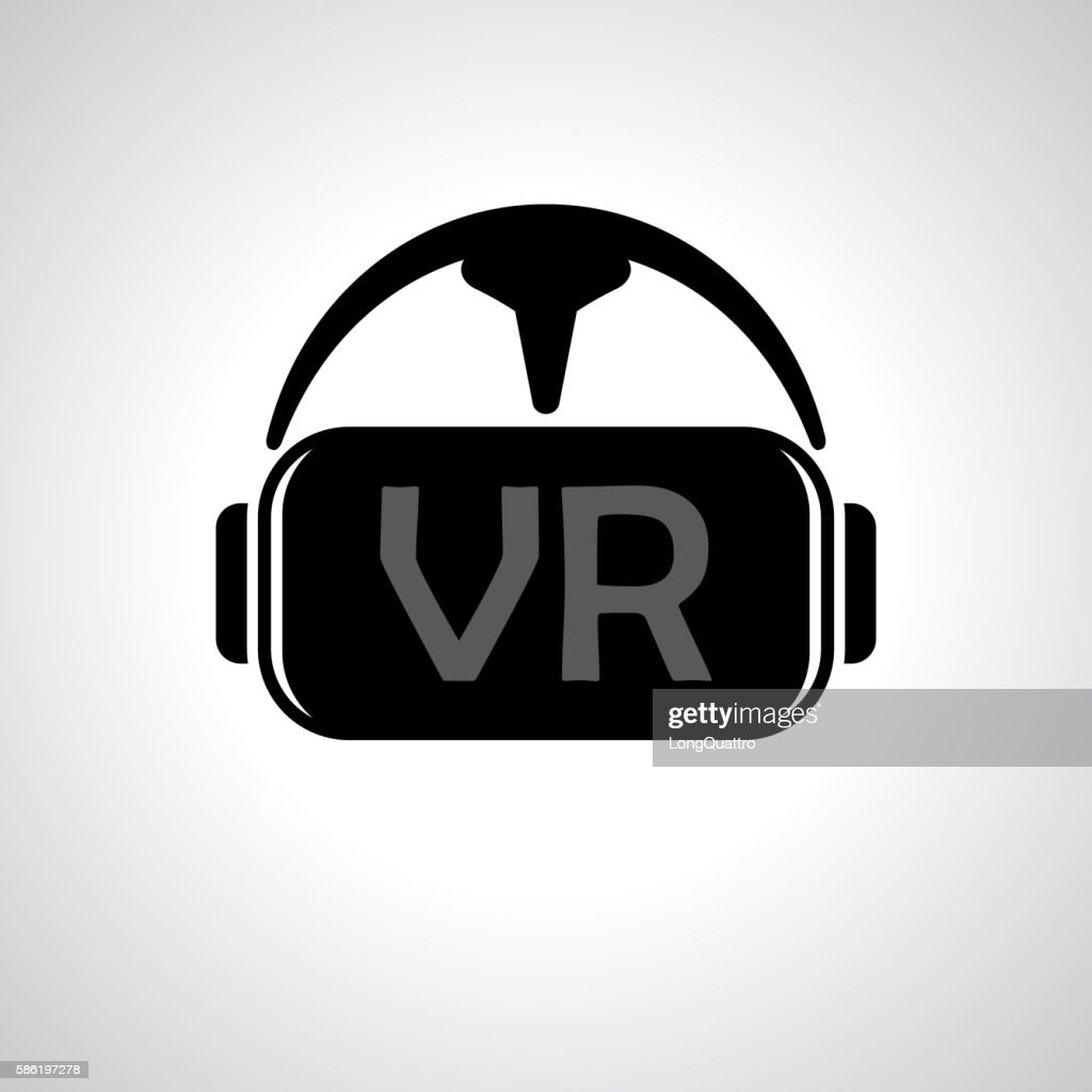 Virtual reality glasses background