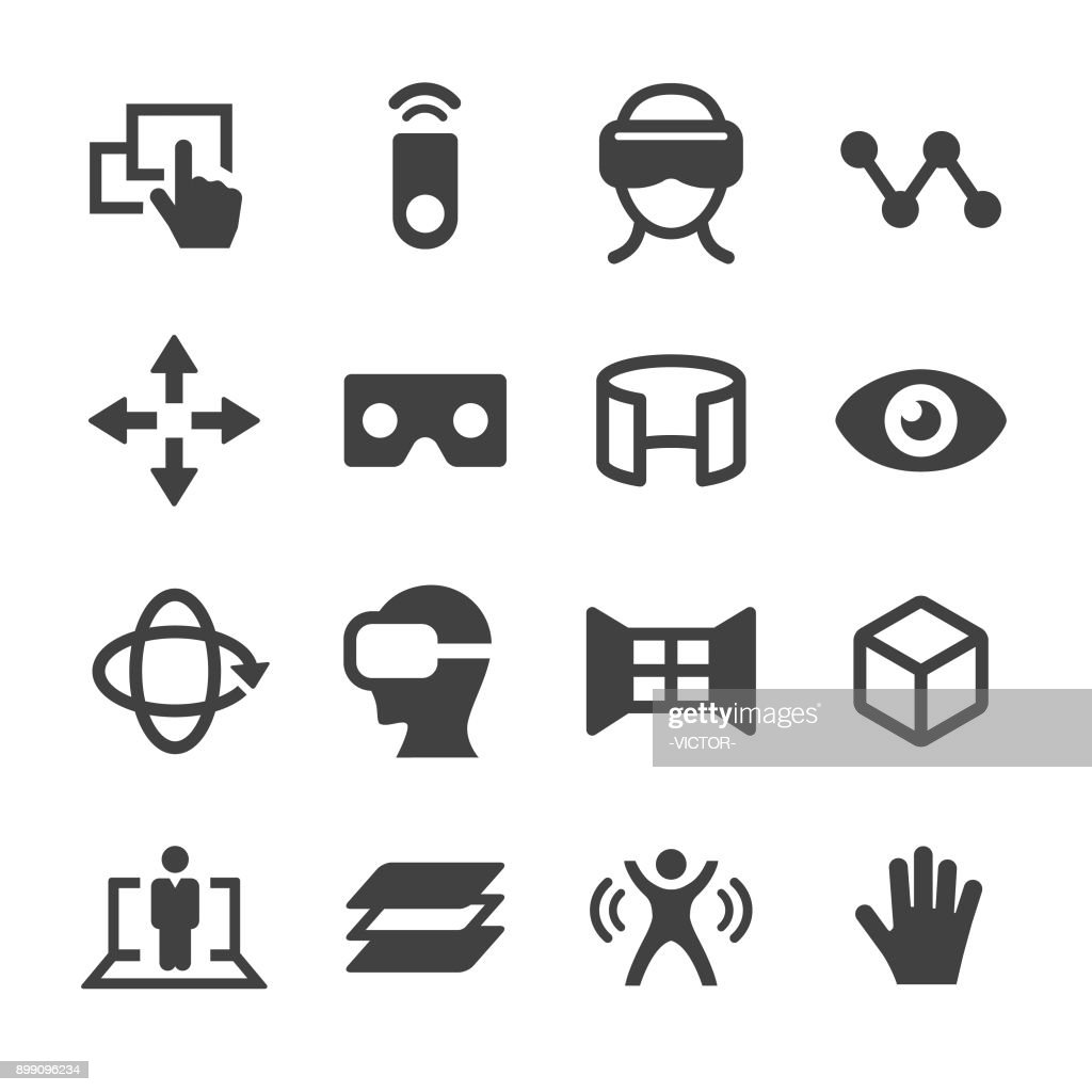 Virtual Reality Icons - Acme Series