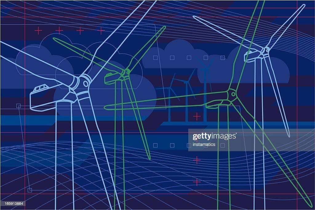 Virtual wind farm