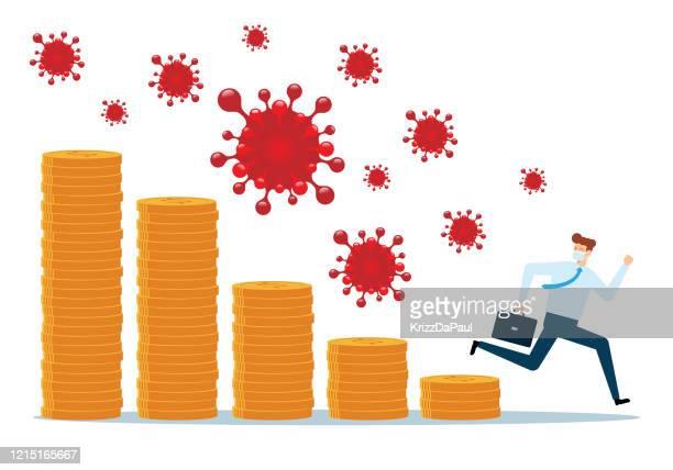 virus crisis - computer bug stock illustrations
