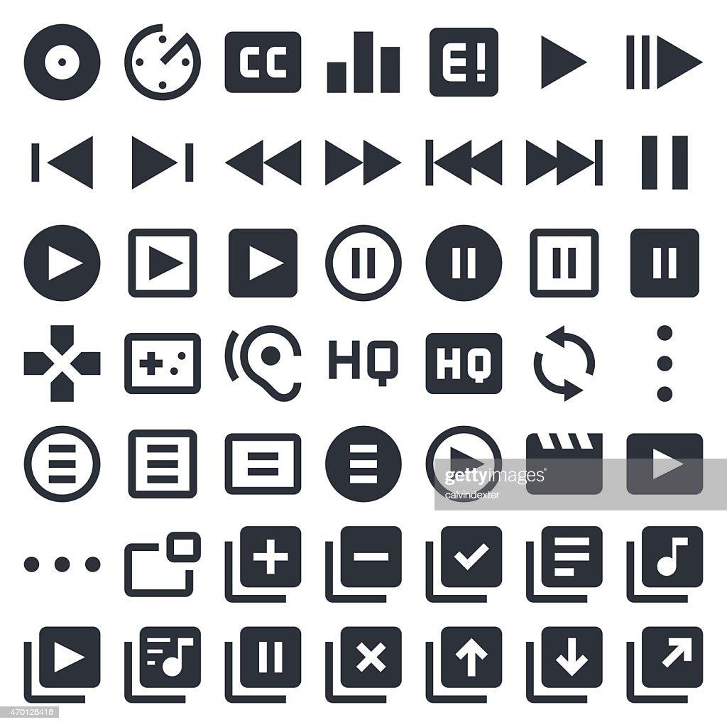 Visual Media icons set 1   49ers Series