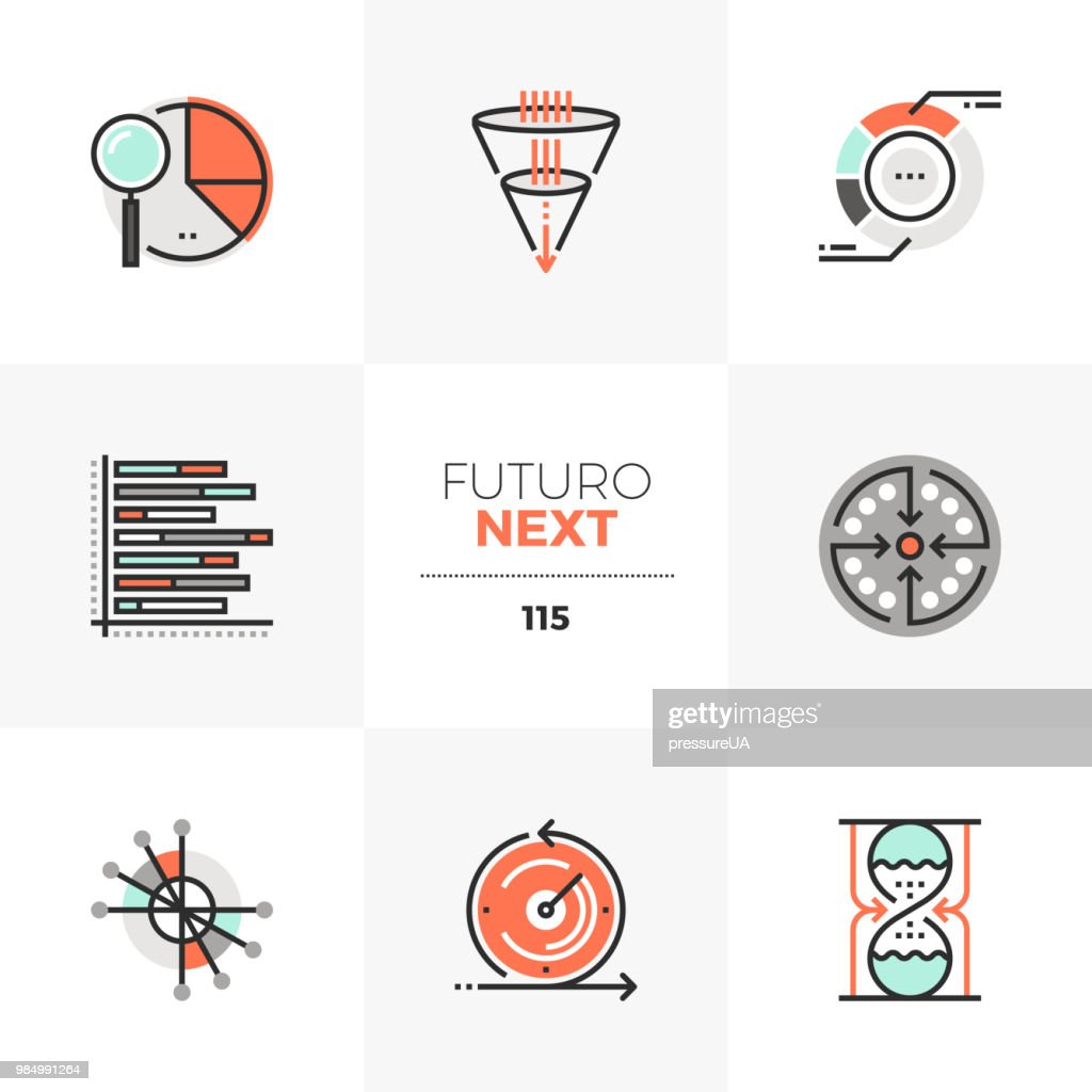Visualization Charts Futuro Next Icons