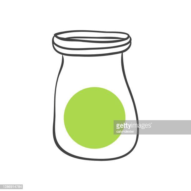 vitamin d bottle illustration - collagen stock illustrations