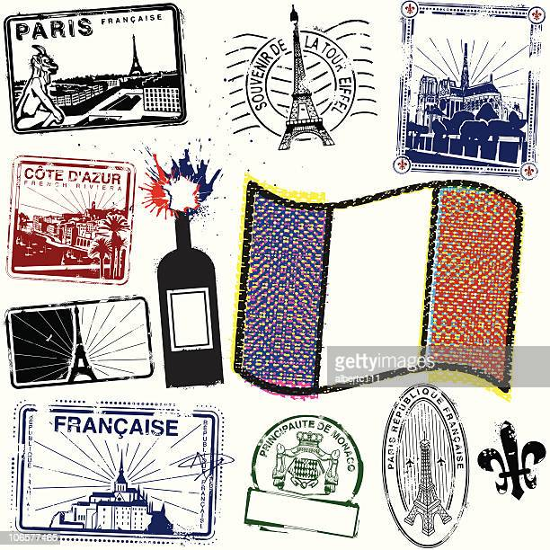 viva la briefmarken-de-france - monaco stock-grafiken, -clipart, -cartoons und -symbole