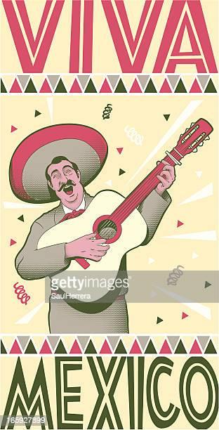 illustrations, cliparts, dessins animés et icônes de viva mexico - sombrero