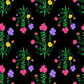Vivid textile texture