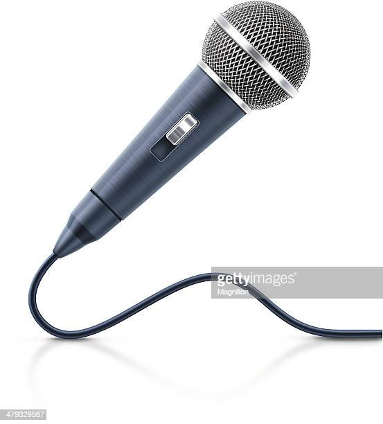 vocal microphone - karaoke stock illustrations