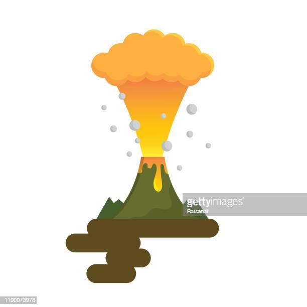 volcano - volcano stock illustrations