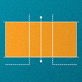Volleyball court wallpaper