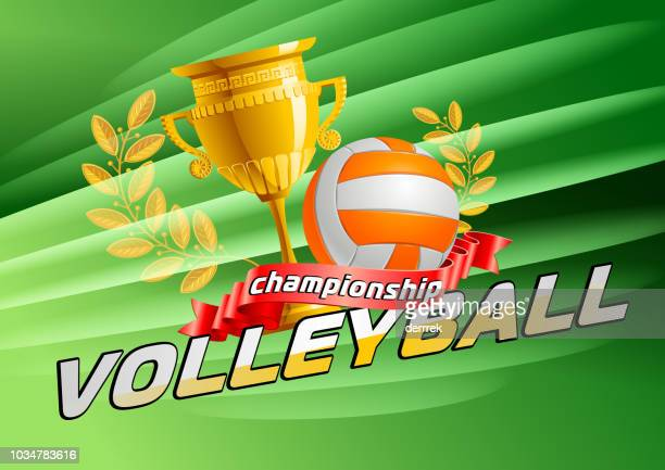volleyball - tournament of champions stock illustrations, clip art, cartoons, & icons