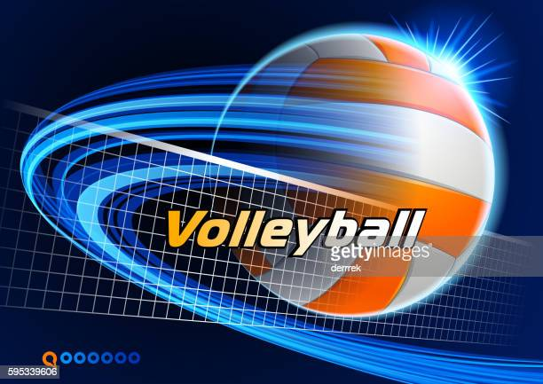 ilustraciones, imágenes clip art, dibujos animados e iconos de stock de cancha de voleibol  - juego de vóleibol