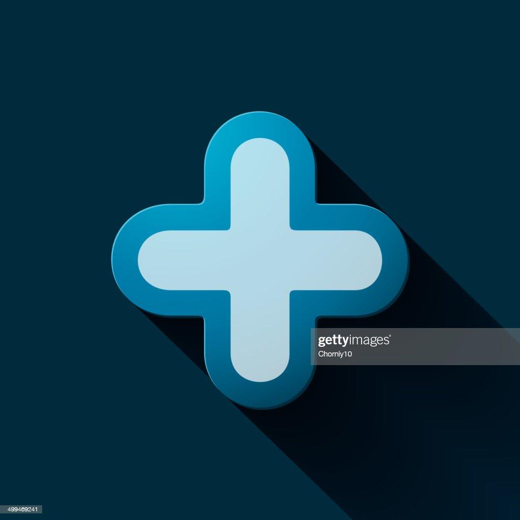 Volume icons symbol: Plus sign