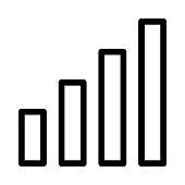 volume Thin Line Vector Icons