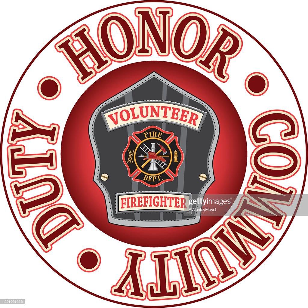 Volunteer Firefighter Duty Honor