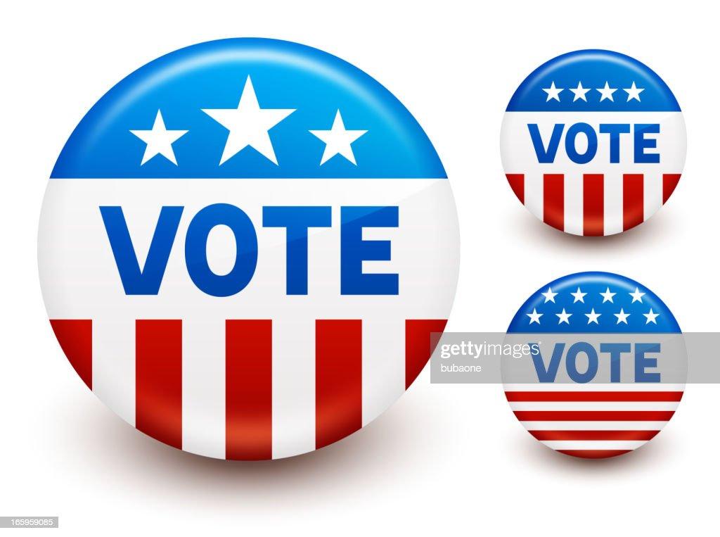 Vote buttons set